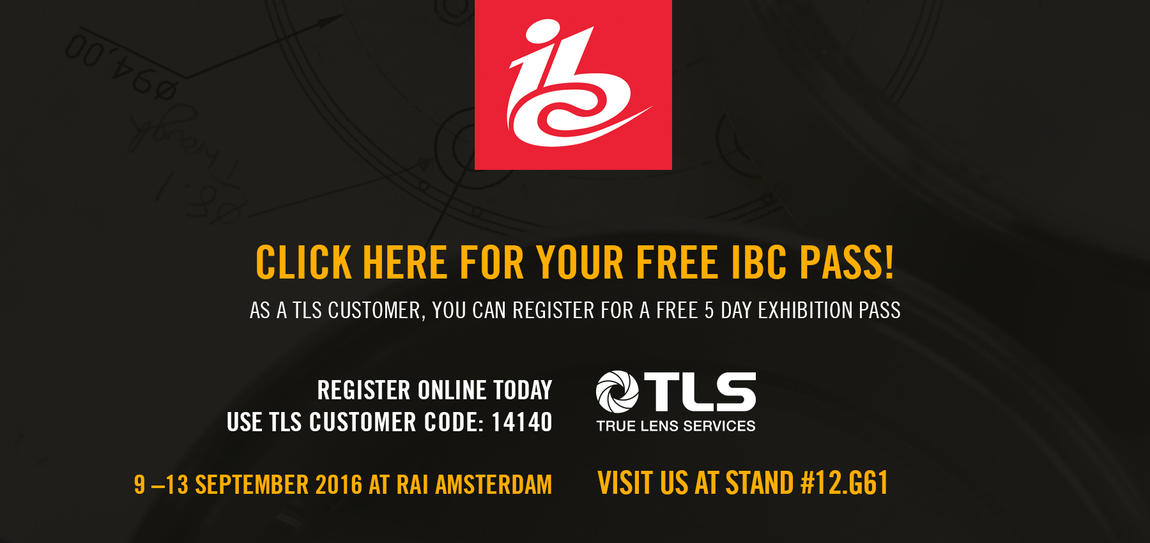 Register for your free IBC pass