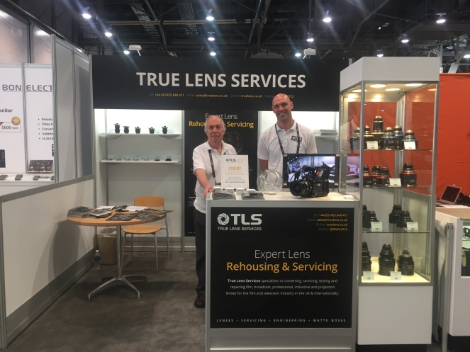 Nab Show 2017 True Lens Services Repair Service And