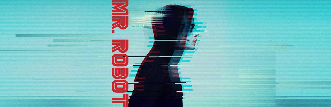 Logo of the show Mr Robot