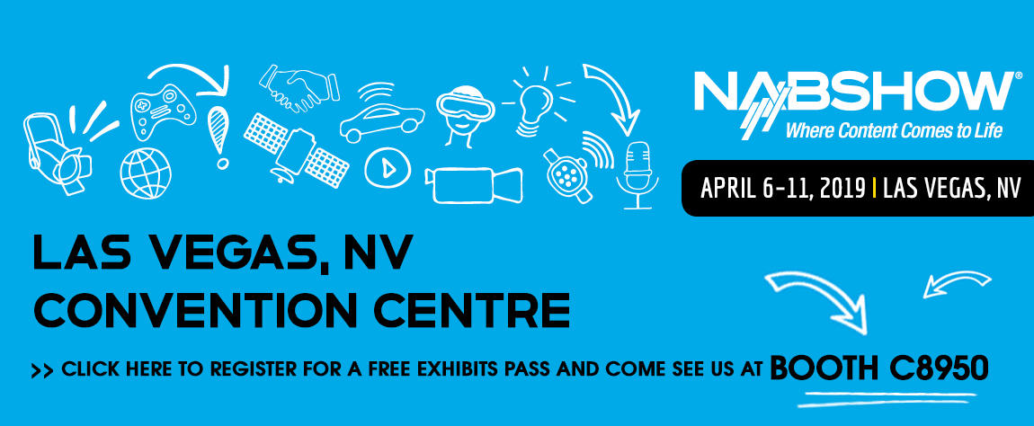 Register for your free NAB exhibits pass
