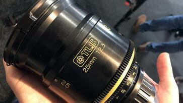 25mm Super Baltar lens