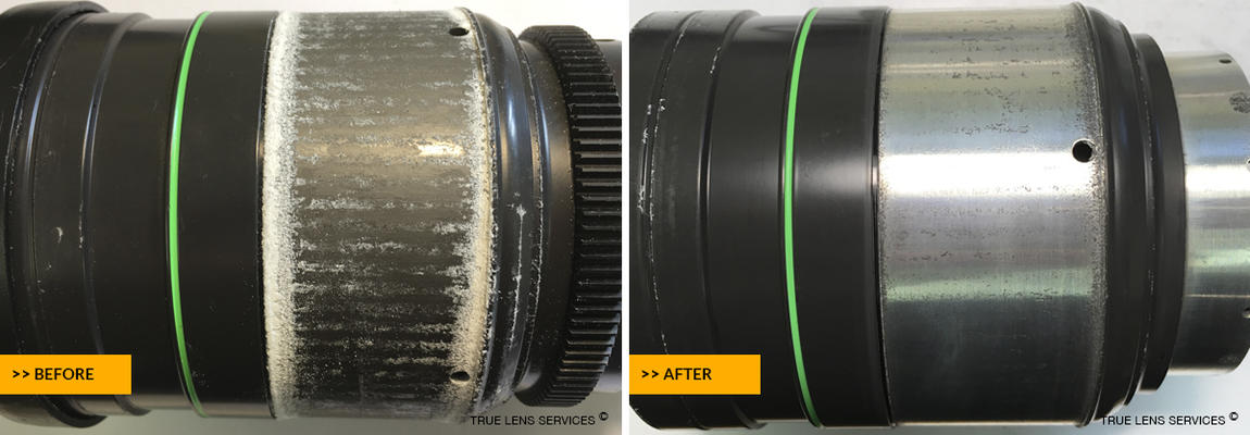 Canon 8-64mm T2.4 Zoom Lens Before After