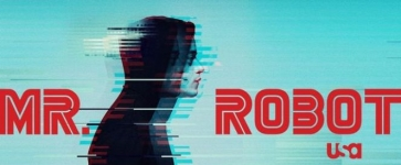 logo of the show Mr. Robot