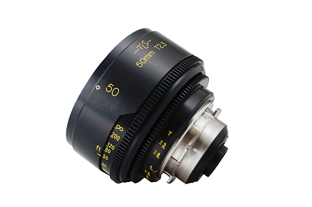 50mm/T2.3 Cooke Speed Panchro Rehoused
